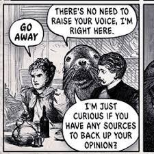 In nearly every case I&#39;ve encountered, those ppl demanding #citations are #Sealioning.<br>http://pic.twitter.com/wdiTk0bsJ1