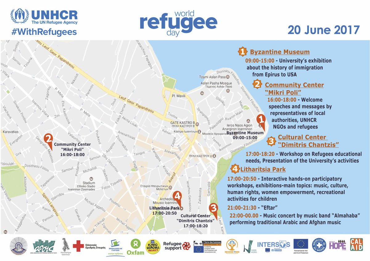 Ioannina Greece Map.Unhcr Greece On Twitter In Ioannina Western Greece We Join