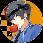 ☆夏祭りアイコン・3☆新「ハートがキュンと来て?」#ドッコイショー#このお面は皆が大好きあのヒーロー…