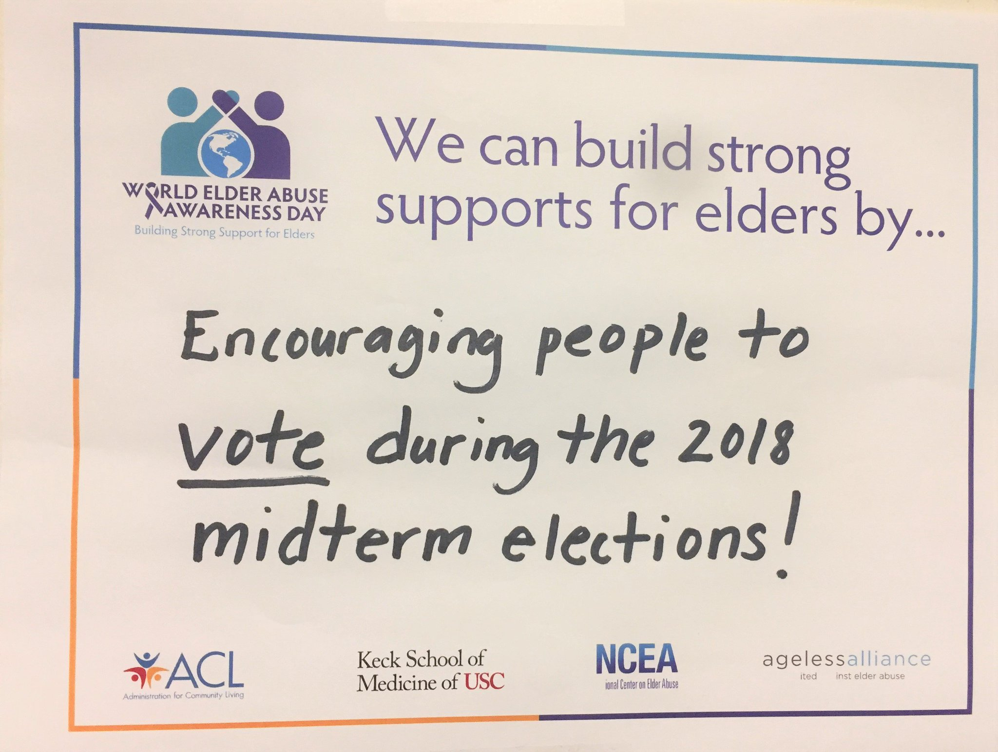 We can build strong supports for elders by... #endelderabuse #WEAAD @NCEAatUSC @ACLgov @AgelessAlliance https://t.co/QeKDcheYA1