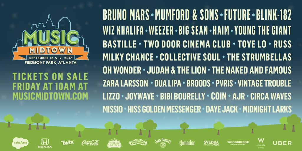 Here is your #MM17 lineup