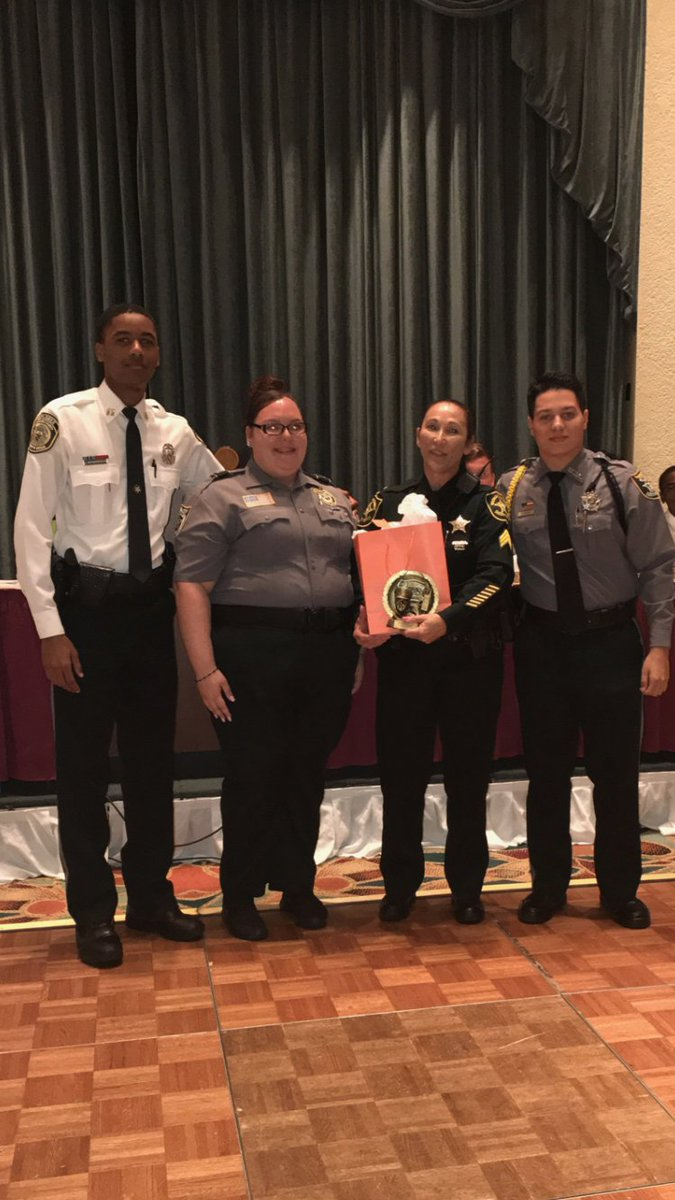 #BSO Sgt. Wargin won the first ever Explorer Advisor of the Year Award. The statewide honor is a testament to her work with our young people <br>http://pic.twitter.com/B9yaoVD8yf