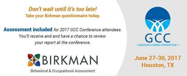 #2017GCC attendees, have you taken your @Birkman questionnaire?📝 Check your email and make sure you take it by Thursday at midnight! ✅✅✅ https://t.co/03mKzlXULo