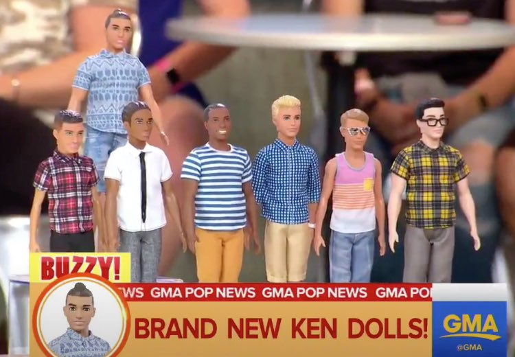 They finally made Kens that look like my ex-girlfriends!!