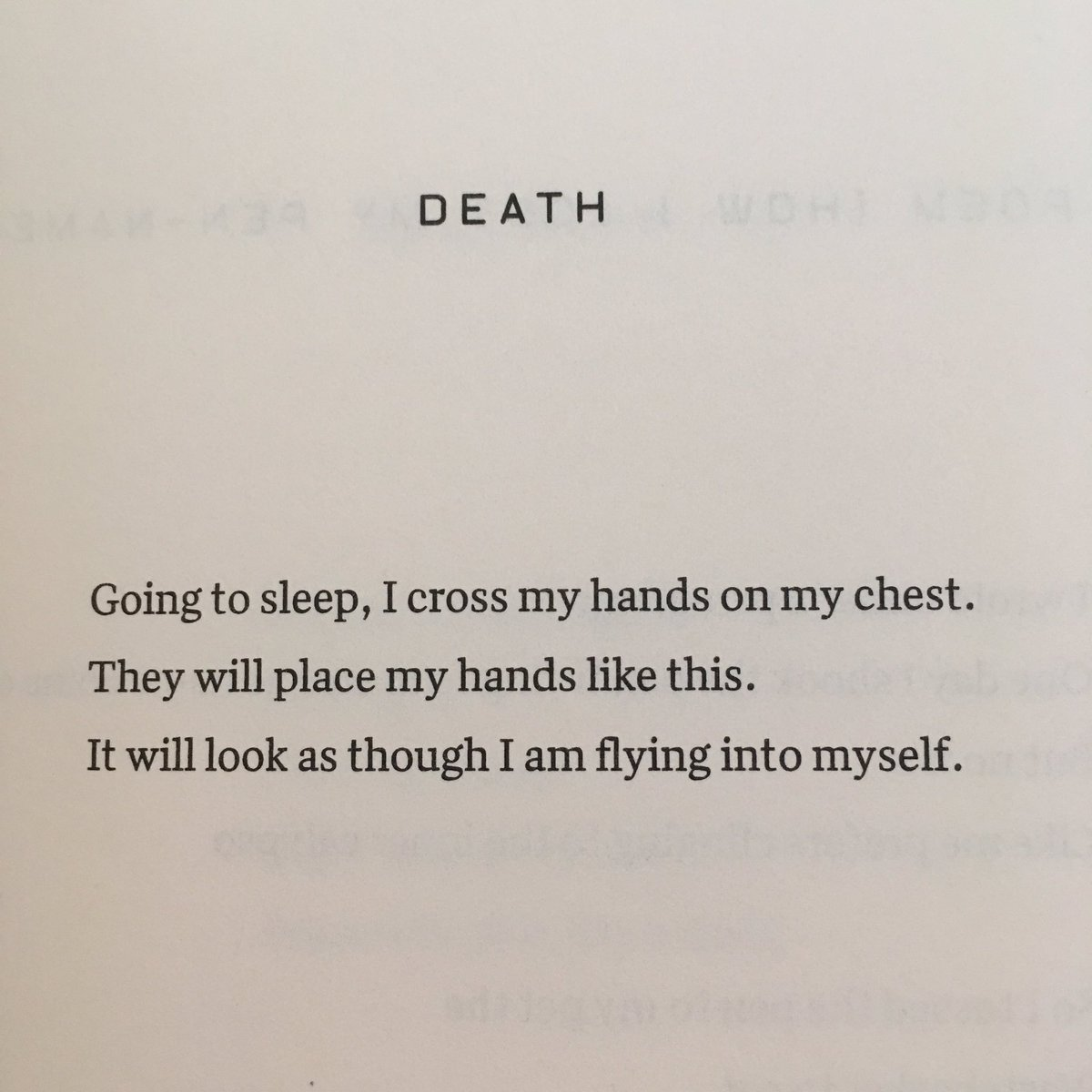 Nice Poems About Death