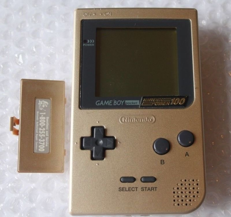 #LimitedEdition of the day is the #Golden #NintendoPower issue 100 #GameBoy Pocket! Don&#39;t even know how many were produced l! #retrogaming<br>http://pic.twitter.com/uVa0OgAtnZ