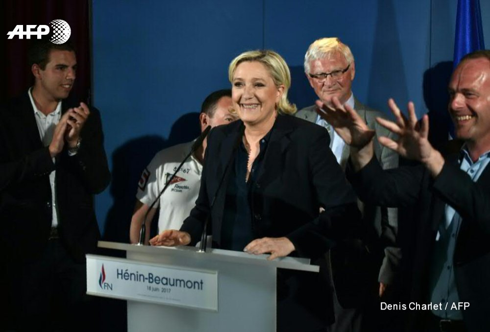 Le Pen is elected French MP but far-right party sapped - FOCUS by @LoisLeFur  http:// u.afp.com/4hiV  &nbsp;   #LePen <br>http://pic.twitter.com/qlkmfkqz6r