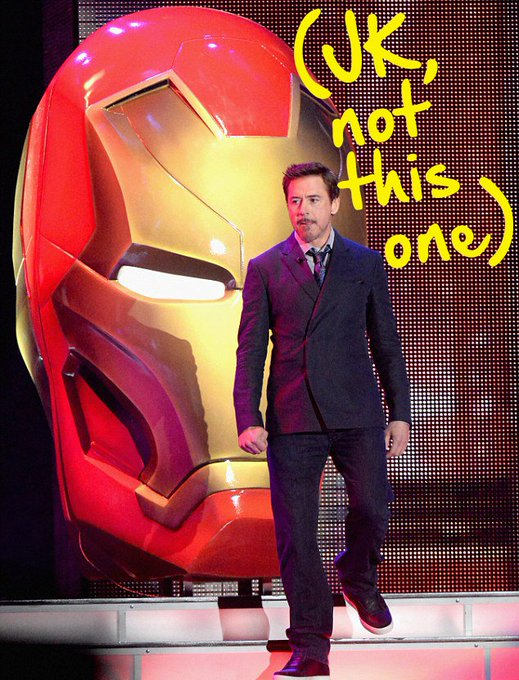 Do YOU want an authentic Iron Man helmet & signed placard from me? 24 hours to ENTER: https://t.co/xgyhXBqj4J