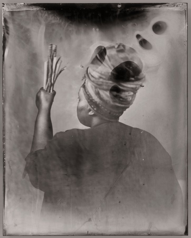 In memory of Khadija Saye and all who lost their lives at Grenfell Tower on 14 June. Khadija Saye, Sothiou 2017, on view at Tate Britain