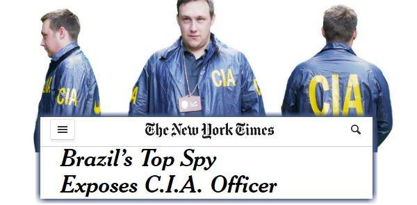 Deu no 'NY Times': Etchegoyen 'entregou' chefe da CIA. PF, também - https://t.co/soZKtqefoy