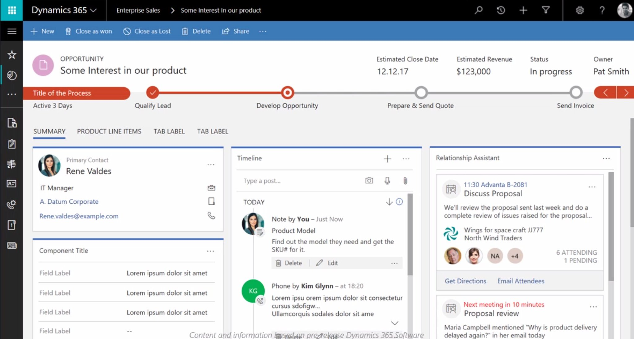 Unified Interface coming to #MSDyn365 looks pretty sweet - or what do you think? Next gen #CRM UI. https://t.co/zYimXXJ7kg