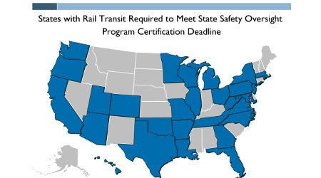 FTA reminds states to set up safety oversight programs for transit rail https://t.co/Ccz0RVCmZe