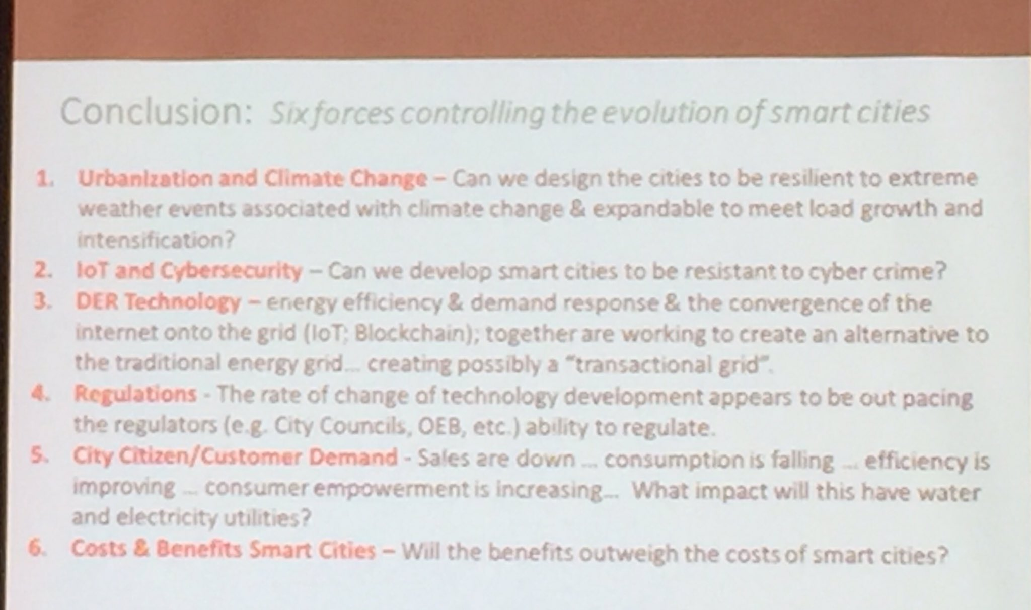 6 forces controlling the evolution of smart cities #BigDataTO @RyersonU https://t.co/DmPZbUnO0J