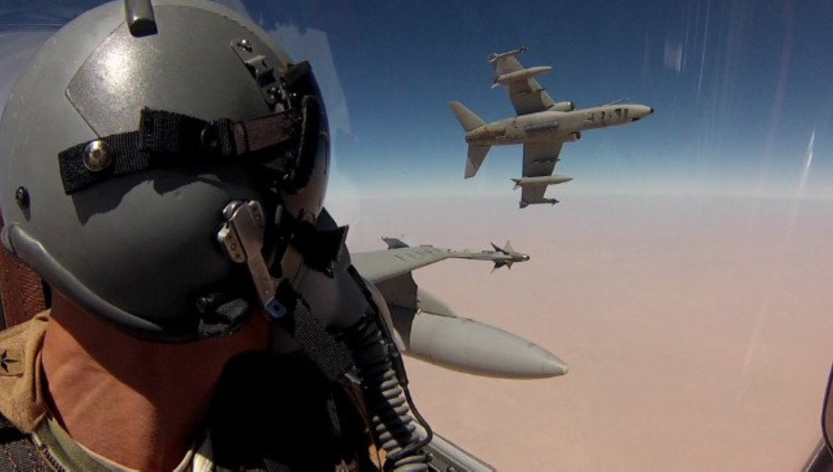 Grateful to our partner #Italy as the 4 AMX jets deployed to fight #Daesh have flown over 2.5k hours  @CBisogniero @MinisteroDifesa<br>http://pic.twitter.com/Zqux2OYD7w