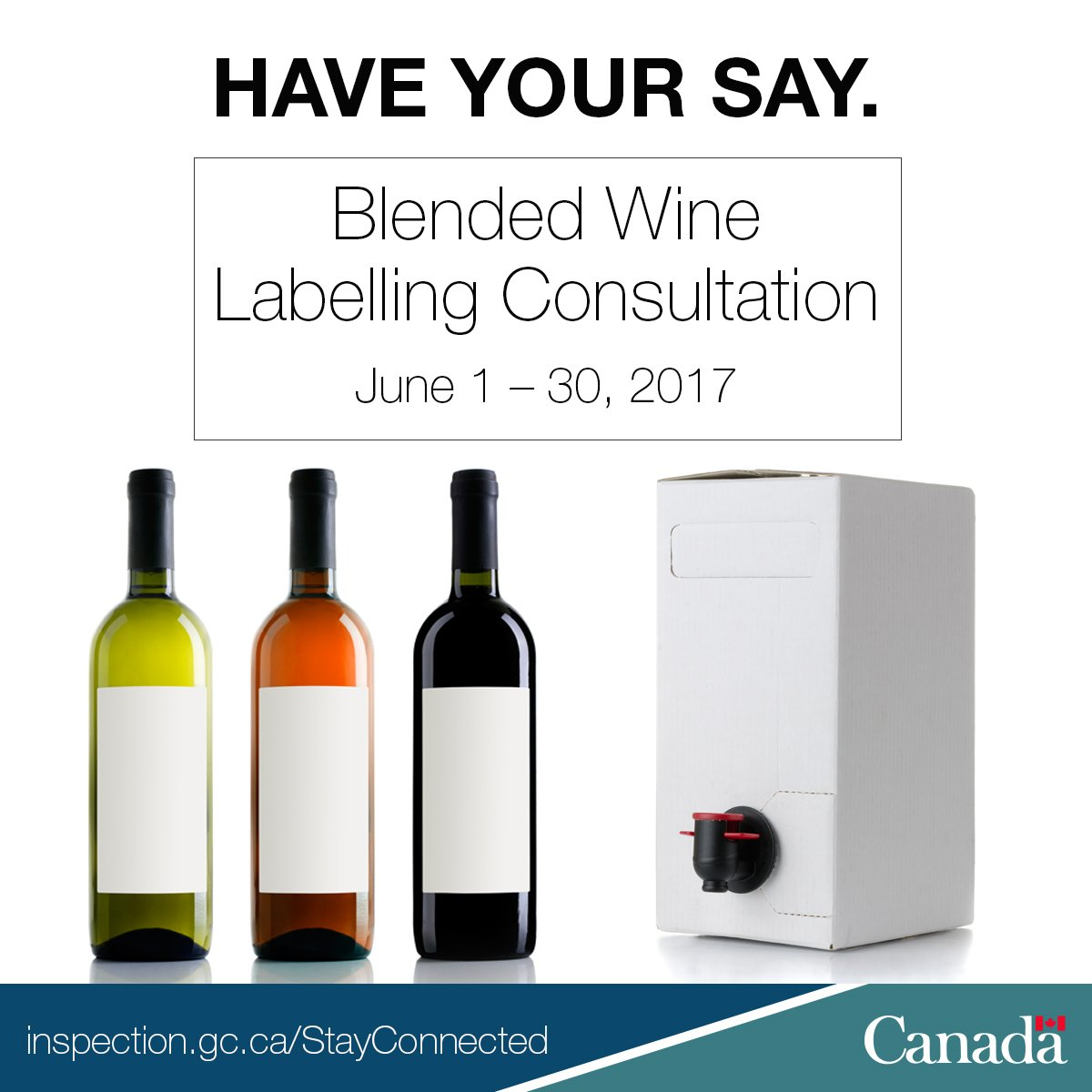 Hey Canada. Take 2 minutes to let us know what you think about the labelling of #wine blended in Canada. https://t.co/mLyhEftk1c  #TellCFIA