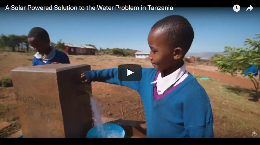 Remote Villages in #Tanzania: #Solar Is Less Expensive Than #Diesel for #WaterPumping  @WBG_Energy #endenergypoverty  http://www. worldbank.org/en/news/featur e/2017/06/06/for-this-remote-village-of-gidewari-a-solar-power-solution-to-its-water-problem &nbsp; … <br>http://pic.twitter.com/oxQVapzwtG