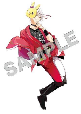 ☆夏祭りアイコン・12☆ 隼「このアイコン、半分ウサくんのお顔だねぇ。まぁ、それも良きかな良きかな。…