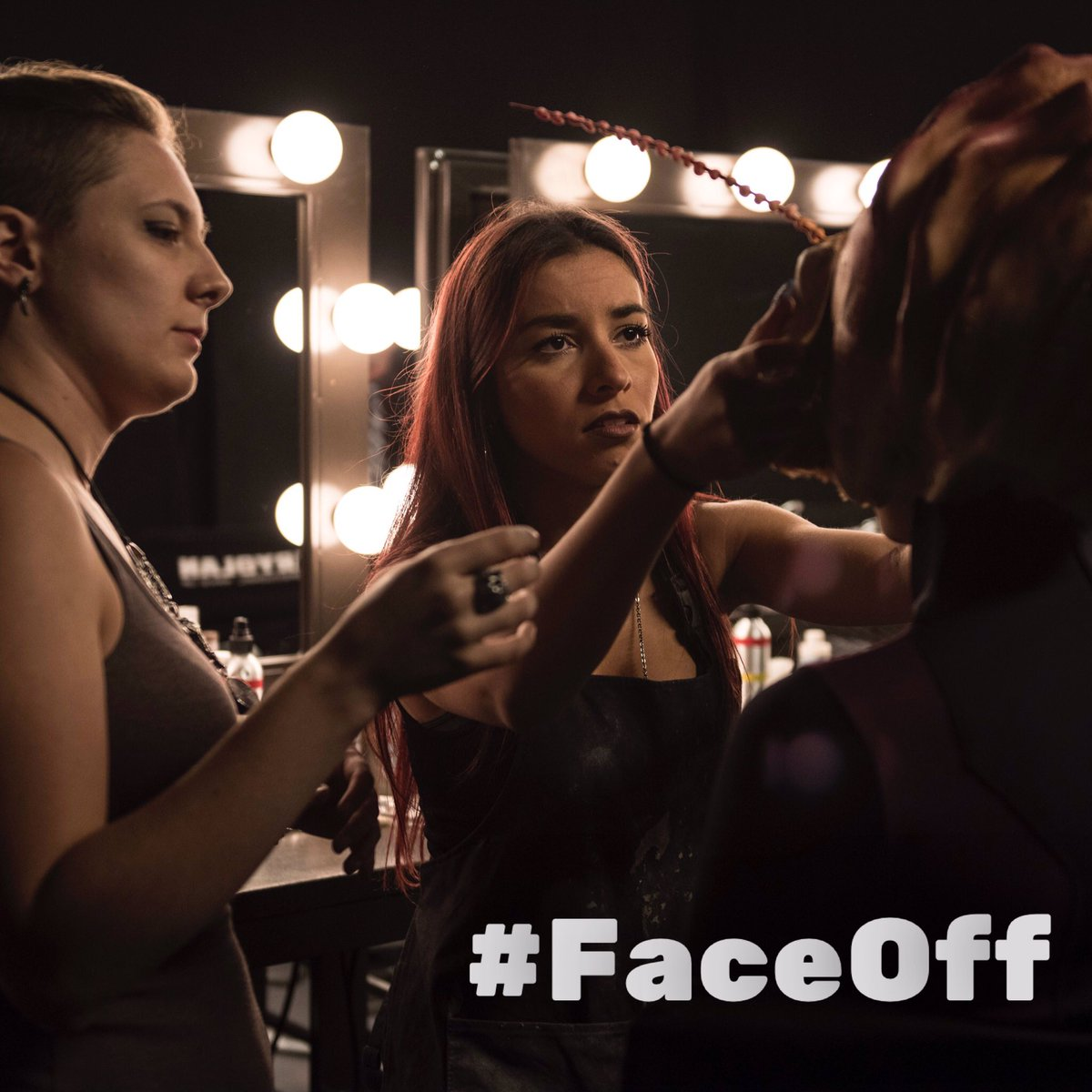 The artists are hatching something otherworldly TONIGHT on #FaceOff #DivideAndConquer at 9/8c on @Syfy! #sfx #sfxmua #sfxmakeup<br>http://pic.twitter.com/QWbBru9Jam