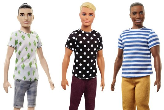 Man buns and dad bods: Ken dolls get a makeover