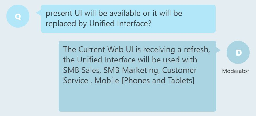 """Unified Interface not so """"unified"""" after all in this #MSDyn365 release yet. Current Enterprise customers better pay attention to details. https://t.co/twWQ1i0EHz"""