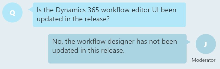 Also, no love for #MSDyn365 workflow editing experience in Spring 2017 release. It's only, what, 10 years old now? https://t.co/h8MB1IQ8Tq