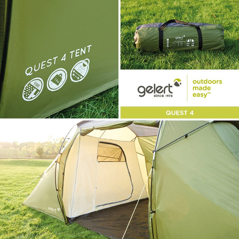 Perfect for weekends away - shop the Quest 4 Tent > https://t.co/cTVLixZXLe https://t.co/7ElNEHZQHH