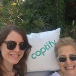 Looks like @claritypr 's @SaraCollinge and @ruthsarfaty are having fun at the @Captify pool party at #CannesLions #notjealousatall