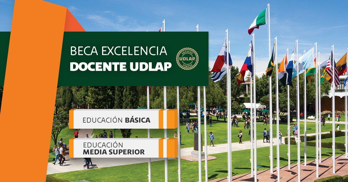 #Maestros esta es una oportunidad para que te sigas preparando, #beca de #UDLAP para posgrados.