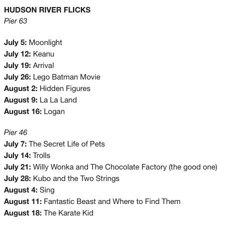 Putting together my outdoor movie screening schedule for the summer and am LIVING for this shade: