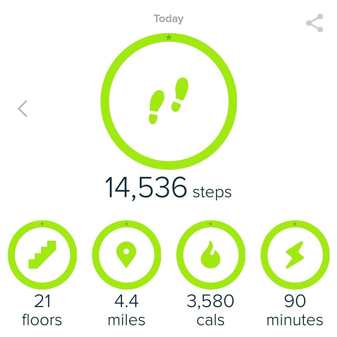 Today&#39;s steps included a couch to 5k run attempt... Day 20 and ahead of the game #walkallovercancer #Fitbit #joggers #sponsorme #PleaseHelp<br>http://pic.twitter.com/mU9KfJTWeR