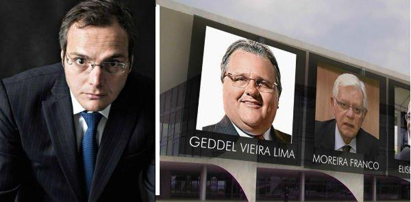Funaro diz que Temer o mandou pagar propina a Moreira e Geddel - https://t.co/jm2gStmnn9