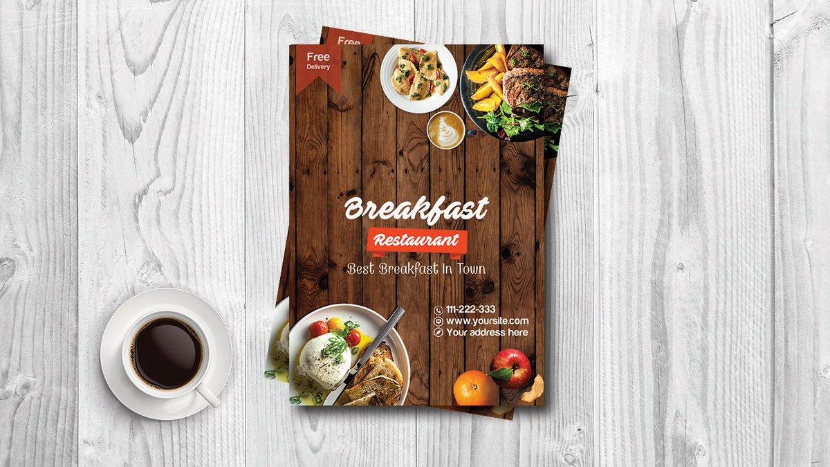 Photoshop poster design youtube -  Learn To Design An Outstanding Breakfast Restaurant Flyer Poster Design In Adobe Photoshop Cs6 Https Www Youtube Com Watch V Tqfazx L_wqw