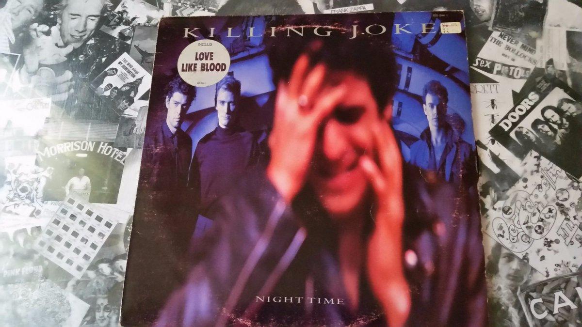 Killing Joke ~ Night Time (1985, EG)  #Vinyle #Musique #Rock<br>http://pic.twitter.com/qVdMMfUGHN