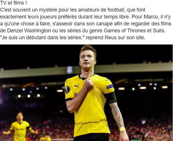 10 choses à savoir sur l'étoile du Borussia Dortmund : Marco #Reus (10/10) ! #bvb pic.twitter.com/YDHLA6PJa5