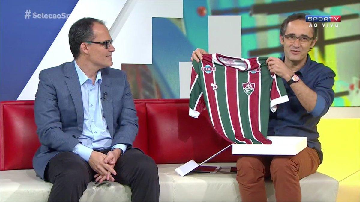Marcelo Barreto: 'Uma das camisas mais bonitas do futebol mundial.'