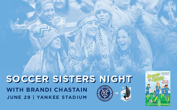 Join @brandichastain and @soccersisters on Thursday, 6/29 29 for Soccer Sisters Night   Buy tix to meet Brandi ➡️ https://t.co/2s9W5nBV0n