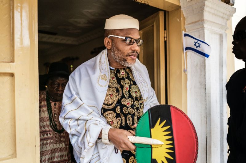 Indigenous People of Biafra [IPOB] leader Nnamdi Kanu has, on Tuesday, issued death sentence to anyone who insists that Biafra will not be achieved.