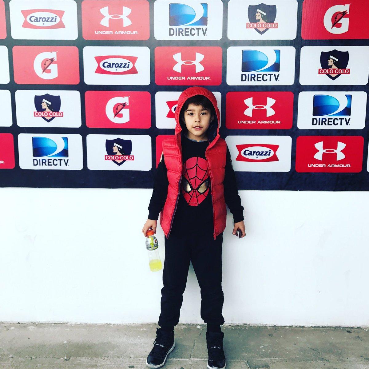 Hoy jorgito conoció el estadio donde jugará su papa ❤️ Estaba Feliz ⚽️...