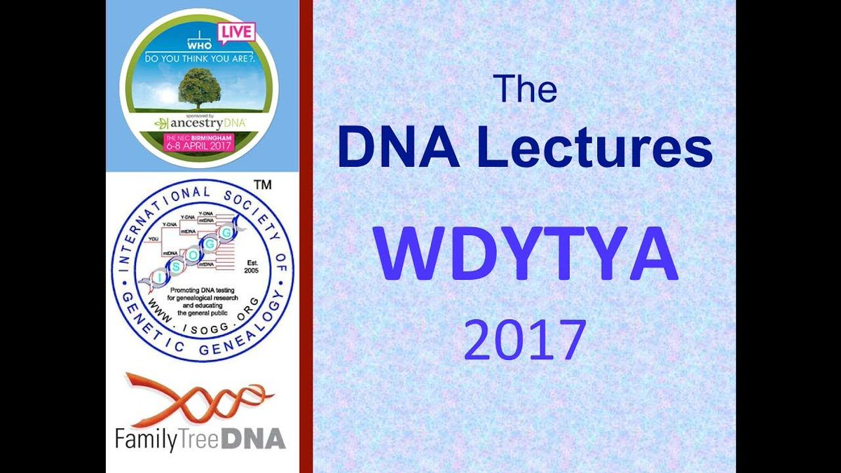 New #DNA lecture from @WDYTYALIVE is now live: &#39;Digging up Your Ancestors for DNA?&#39; by Andrew Millard #Ancestryhour  http:// buff.ly/2rzUsz0  &nbsp;  <br>http://pic.twitter.com/2u7Oz6c0YB