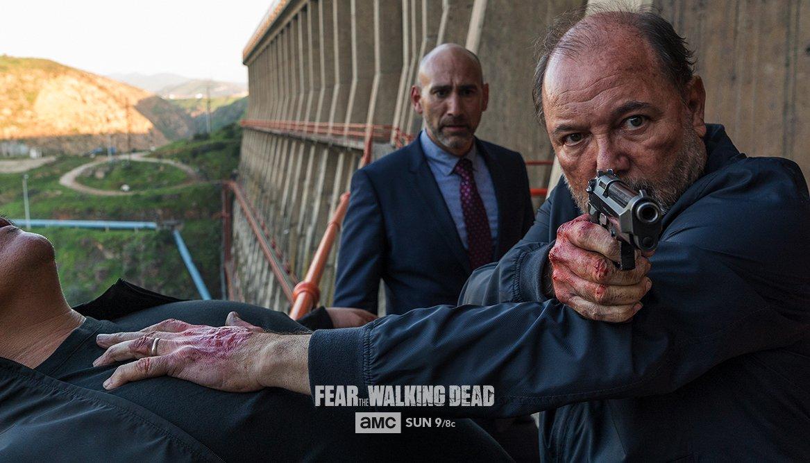 Cast and creators on Daniel choosing between good and evil. #FearTWD h...