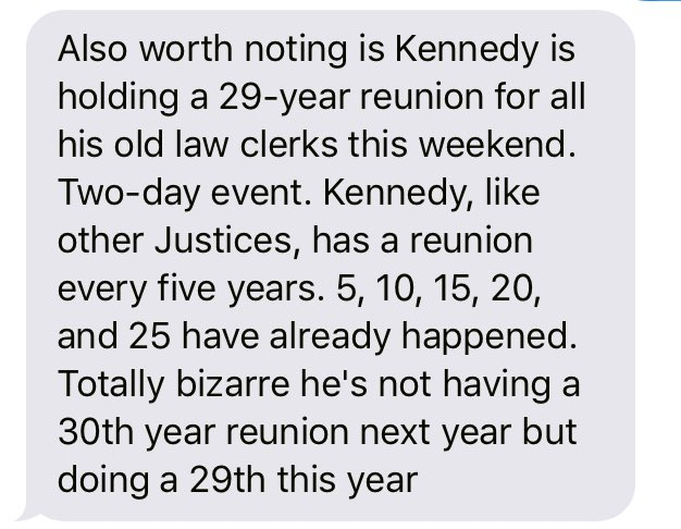 Kennedy retirement rumors also fueled by his big '29-year anniversary party' this weekend