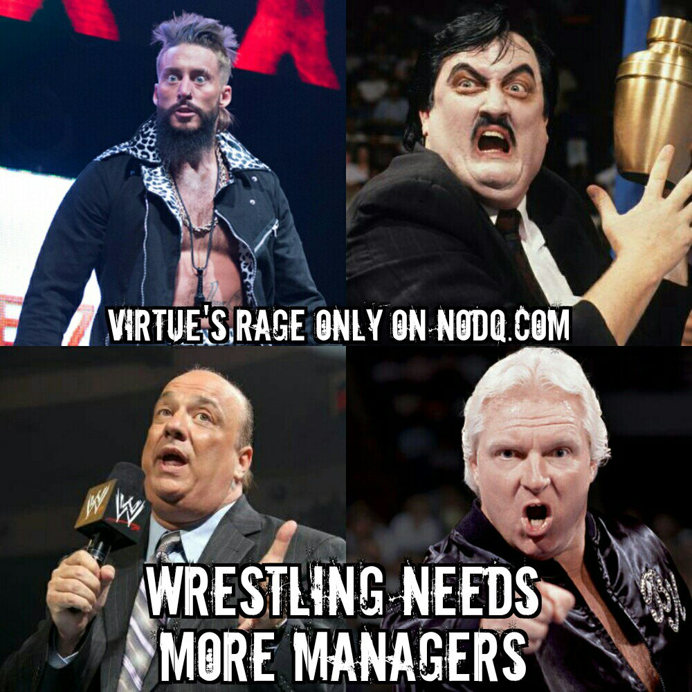 Wrestling Needs More Managers