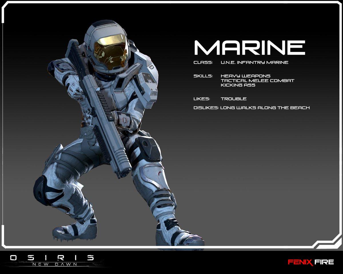 osiris new dawn on twitter announcing the marine class coming