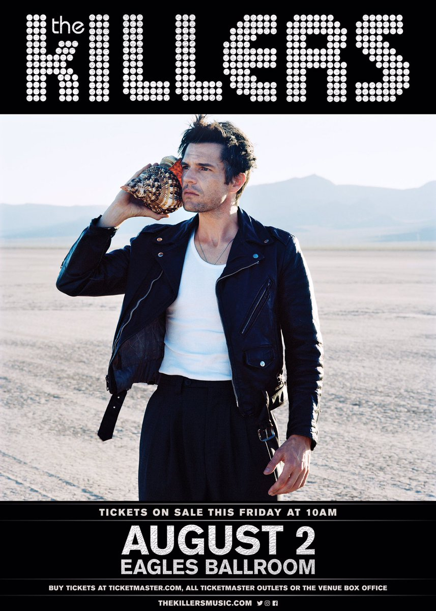 The Killers (@thekillers) on Twitter photo 20/06/2017 19:11:17