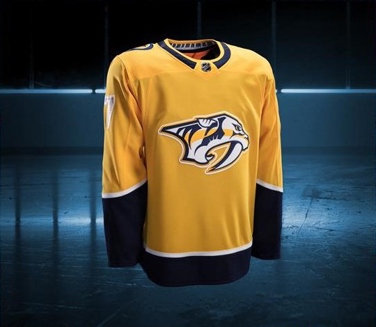 The new Adidas Nashville Predators Home Jersey   Predators 4af4798bc