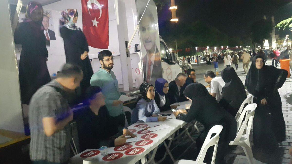 #AKGençFatih olarak Sultanahmet Meydanı'nda üye çalışmamızı gerçekleşt...