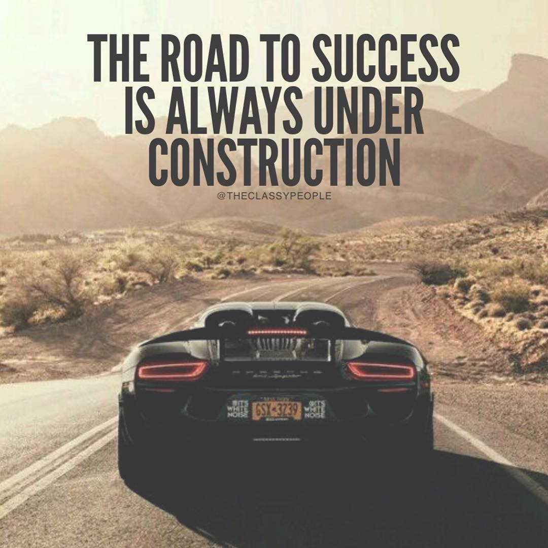 Carpace On Twitter Car Quotes Of The Day The Road Of Success Is