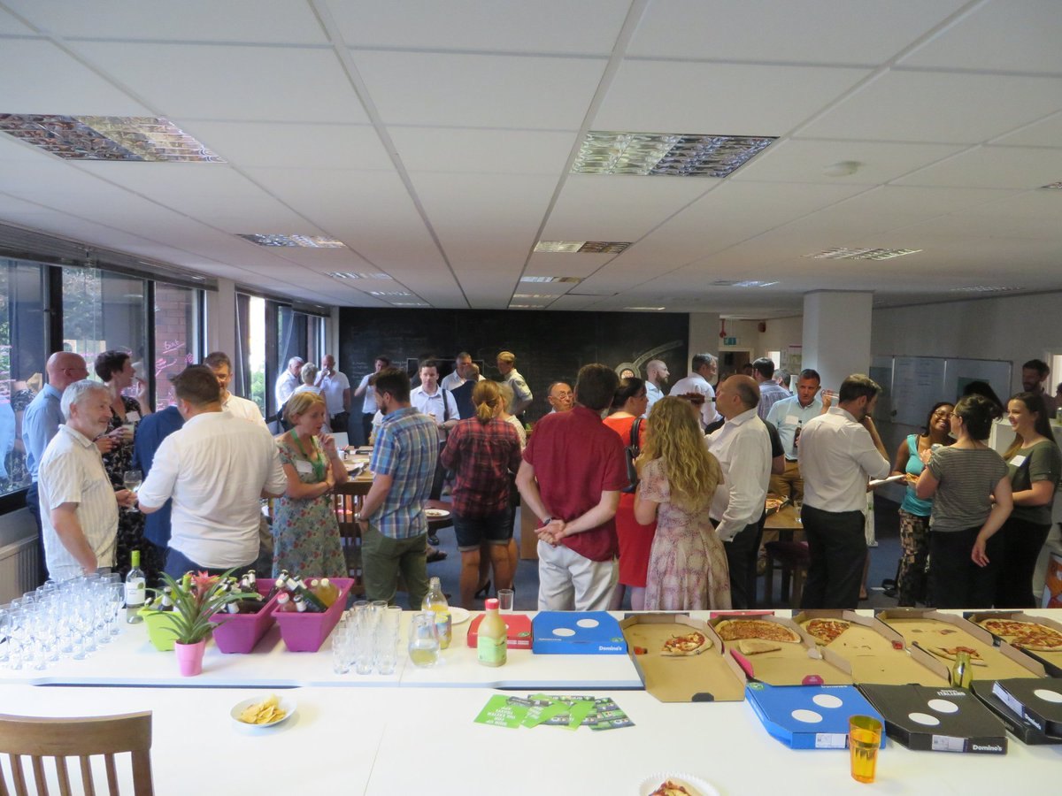 Fantastic #meetandgreet tonight at our new office Introducing our #accelerator teams! Thanks to all who came! #Beer #Pizza #Entrepreneurs<br>http://pic.twitter.com/lNH5PCbAWw