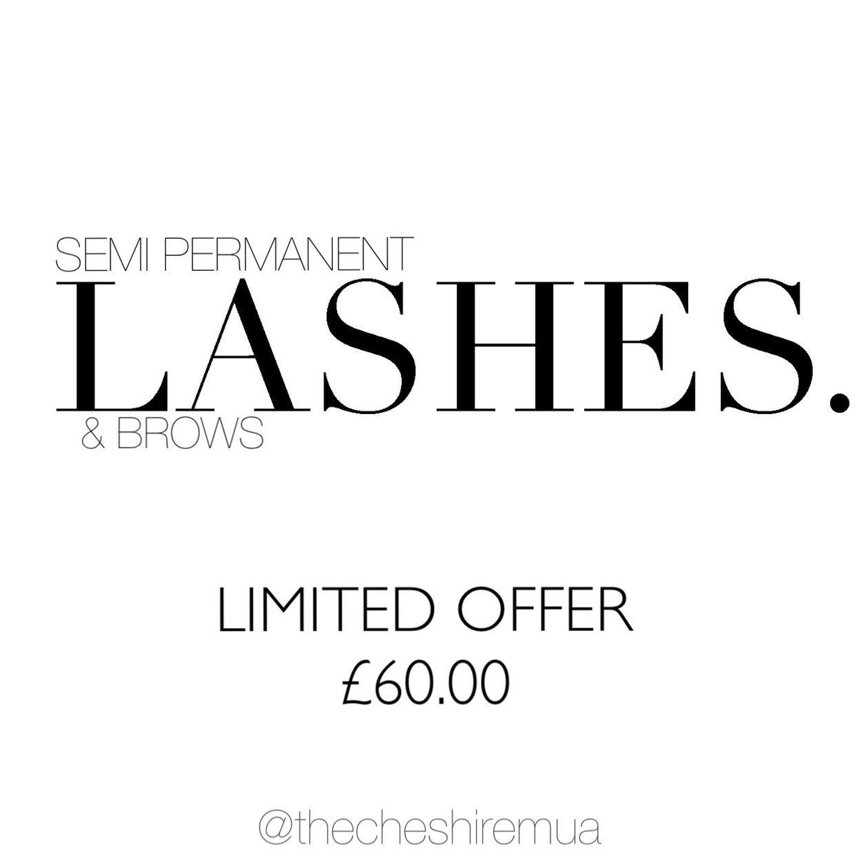** Lash &amp; Brow offer **#hdbrows #nouveau #lashes #chester #makeupartist #chesterbusiness @chesterhour #chesterhour<br>http://pic.twitter.com/GSoT5I375E