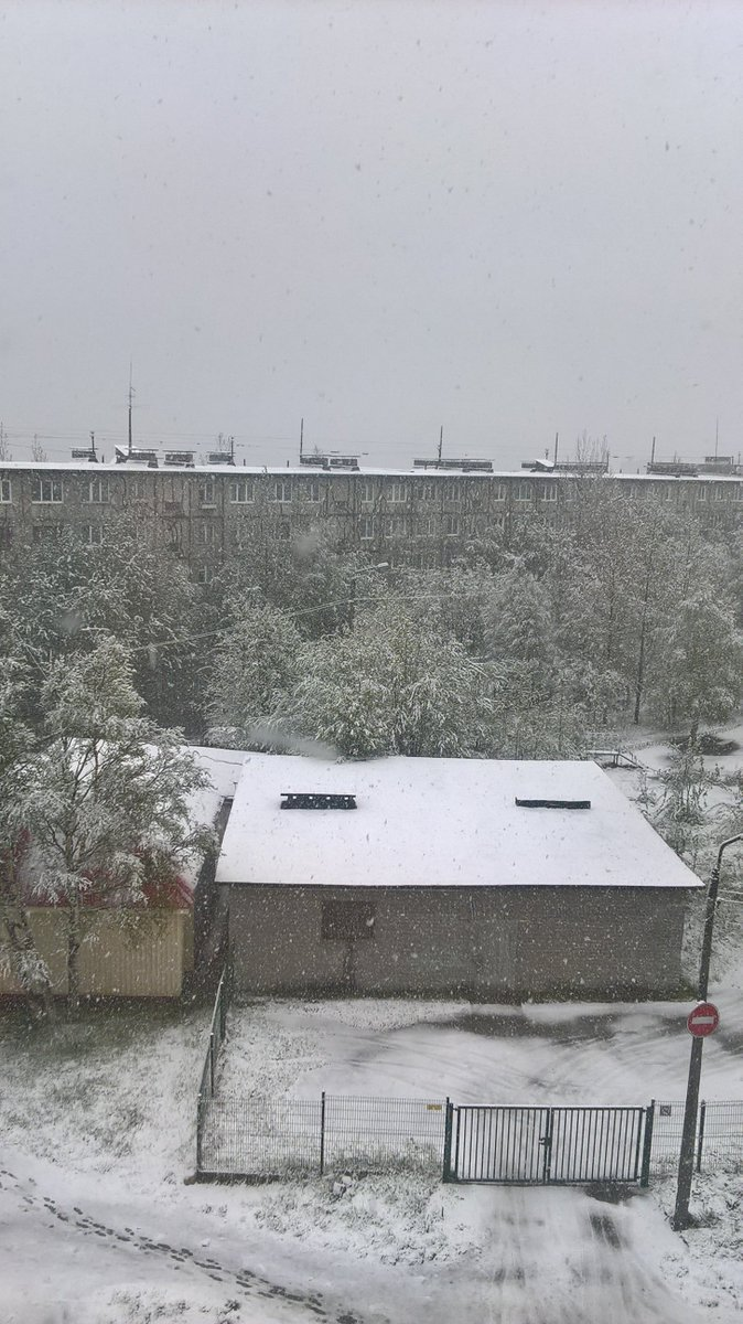 Summer Snow in Russia-Heat in Siberia